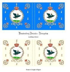 War of the Spanish Succession  Brandenburg Prussia  Prussian Foot  Kronprinz