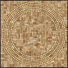 Wine Cork Mandala - Mandala Artists