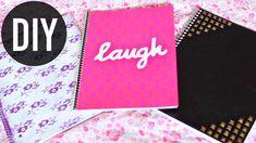 DIY Notebooks for Back to School | Easy DIY School Supplies! | JENeratio...