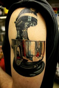 Mixer tattoo! the bowl only for me