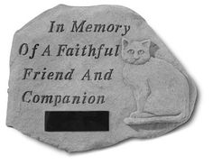 Weatherproof and durable, this memorial stepping stone offers a permanent and touching way to honor a beloved pet  #petloss #petsympathy #sympathyquotes #sympathygifts #petsympathygifts #personalizedsympathygifts #memorialgifts #condolencegifts #memorials #expressingsympathy #grief   http://www.thecomfortcompany.net/