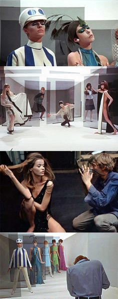 BLOW-UP 1966-iconic film introduced jane birkin and londons mod fashion scene at its finest