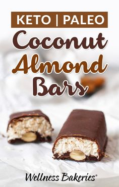 The Coconut-Lover's Favorite Candy Bar... Now Paleo & Keto!