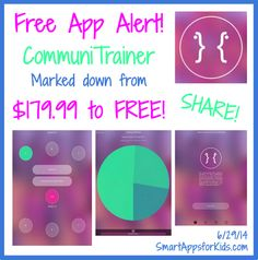 Free App Alert! CommuniTrainer has gone FREE! This communications app is marked down from $179.99! http://www.smartappsforkids.com/2014/06/free-app-alert-communitrainer-has-gone-free-this-communications-app-is-marked-down-from-17999.html