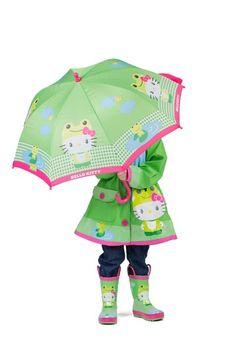 Hello Kitty Froggy Umbrella