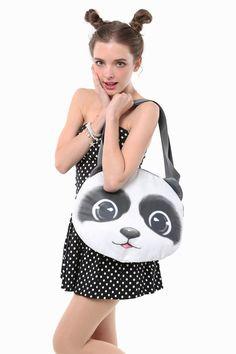 Inspired Panda Handbag