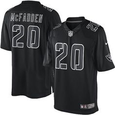 shop the official Raiders store for a Men s Nike Oakland Raiders  20 Darren  McFadden Elite 4baf386dc