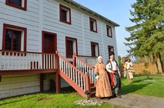 Fort Langley National Historic Site. My gggAunt, Jane Klyne, was married to Archibald McDonald who was chief factor at Ft Langley from 1828-33.