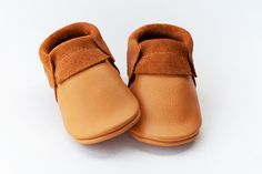 Baby Moccasins Indian Summer - Suede Edge Moccasins by Monkey & Mole