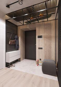 creative diy woodworking plans for build home furniture design 9 Design Entrée, Flur Design, Hall Design, House Design, Hall Interior, Home Interior Design, Modern Interior, Hall Furniture, Furniture Design