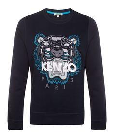 Exclusive Tiger Sweatshirt. MenswearSweatshirtsHow To WearClothesKenzoLibertyFashion  ... df0d67103df