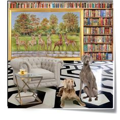 Eight dogs. Large oil painting on request. A home decor collage from October 2017 by canisartstudio featuring interior, #interiors, interior design, home, home decor, interior decorating, #dog #petportraits #canisartstudio