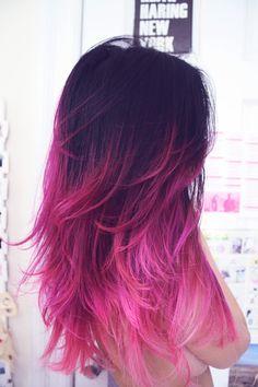 again hair