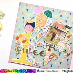 """Virginia Walker on Instagram: """"I'm sharing a new #12x12layout for my """"scrap for you"""" series over on #youtube today! And this one is using a photo from @danichey3 and her…"""" Birthday Scrapbook Pages, Scrapbook Layouts, Confessions, Virginia, Paper, Etsy, Youtube, Instagram, Scrapbooking Layouts"""