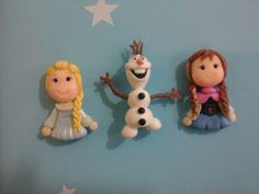 Personagens Frozen biscuit,(unidade).