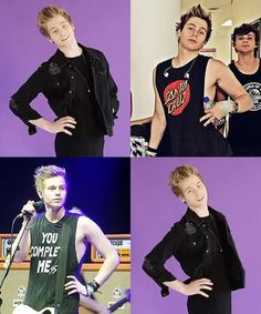 So much sass...<< the fashion model; Luke Hemmings everyone...