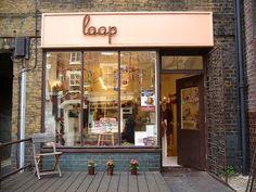 Loop | London #shop #window #sign #script