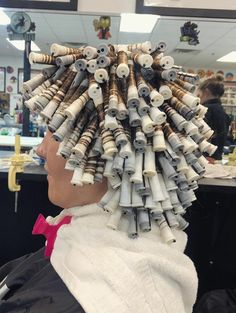Men Perm, Getting A Perm, Perm Rods, Roller Set, Perms, Curlers, Burlap Wreath, Boys, Hair