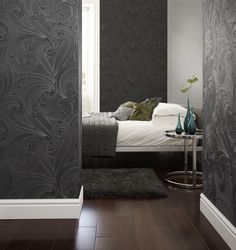 swoon!! Graham & Brown - Saville Wallpaper $75/roll (other colors)