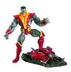 6 Marvel Legends Series V Figure Colossus -- Read more at the image link. (This is an affiliate link) Marvel Heroes, Marvel Comics, Marvel Legends Series, The Uncanny, Picture Story, Cool Toys, Awesome Toys, Childhood Toys