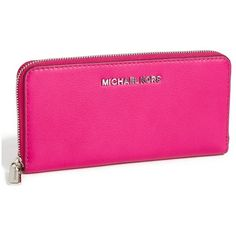 725ce13df61ca MICHAEL Michael Kors 'Bedford' Continental Wallet ($92) ❤ liked on Polyvore  featuring