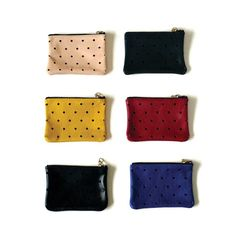Punched Dot Wallet / PINE & BOON