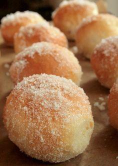 Baked jam doughnuts - butcherbakerblog.com