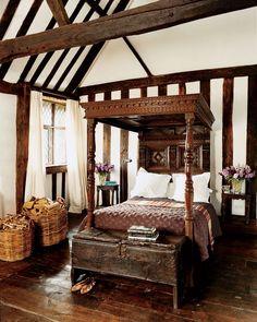 authentic English tudor room