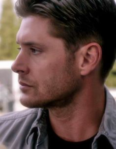 """misswhizzy: """" 10x01 Black // Happy (belated) Birthday, Eric! Some Demon!Dean for you :):) """""""