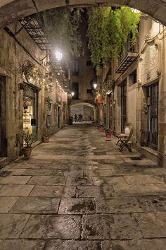 Calles de Barcelona, Catalonia