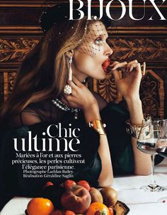 BIJOUX Aug '12 Vogue Paris