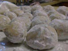 Susan Recipe: Snowball Cookies