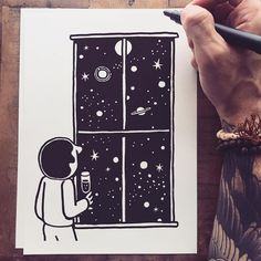 Stepping Into Another Dimension | Doodlers Anonymous