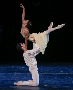 Misty Copeland & Alexandre Hammoudi perform the Romeo and Juliet pas de deux at the International Evening of Dance II program of the 2015 Vail International Dance Festival. Photo © Erin Baiano