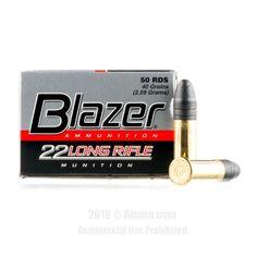 CCI 22 LR Ammo - 500 Rounds of 40 Grain LRN Ammunition #22LR #22LRAmmo #CCI #CCIAmmo #CCI22LR #LRN #Blazer