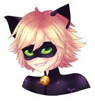 Chat Noir by Ruxeki