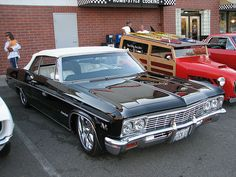 I absolutely love this finish color for this classic chevy convertible 66 Impala, 1966 Chevy Impala, General Motors, Convertible, Volkswagen, Toyota, Automobile, Classic Car Restoration, Chevy Muscle Cars