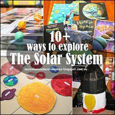 Suzie's Home Education Ideas: 10+ ways to explore The Solar System
