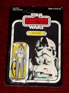 Kenner Empire Strikes Back Action Figure - AT-AT Driver