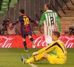 Messigoool, FC Barcelona |  Betis, 1 - Barça, 2. [09.12.12]