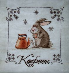 The hare, with a warm brew.
