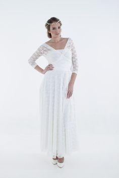 Winter wrap wedding dress R899  www.infinity-dress.co.za
