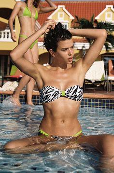 ISLE ANIMALÉ // BĀMBA SWIM x CAMERON HAMMOND Bamba Swim, Cameron Hammond, Swimsuits, Bikinis, Swimwear, Swim Top, Summer Nights, Havana, Short Skirts
