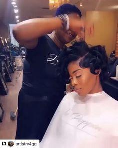 Bantu Knot Hairstyles, African Hairstyles, Girl Hairstyles, Natural Hair Styles, Short Hair Styles, Natural Beauty, Black Hair Video, Cute Bob Haircuts, Hair With Flair