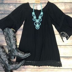 LOVE this outfit. Have the boots. Need the dress