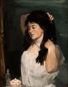 Russian Girl, 1906-1907 Oil on canvas