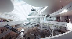Arch2o-Moscow Polytechnic Museum and Educational Center-3XN (2)