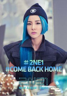 2NE1 release 'Come Back Home' MV stills | Dara