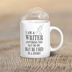 I Am A Writer Mug: