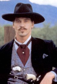 western doc holliday shoulder holster pattern - Google Search